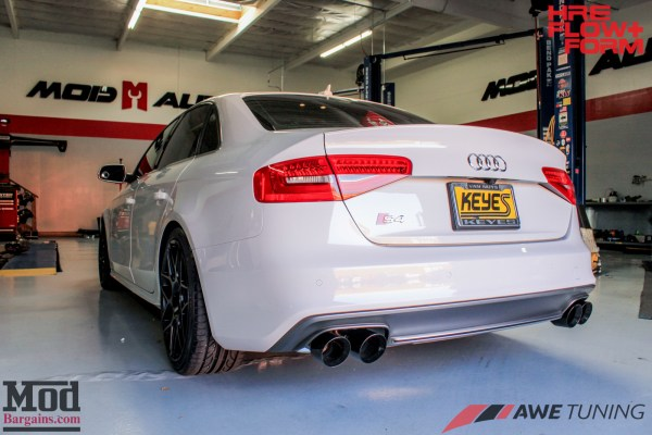 Black Tie: B.85 Audi S4 on Tarmac HRE FF01s gets AWE Tuning Exhaust