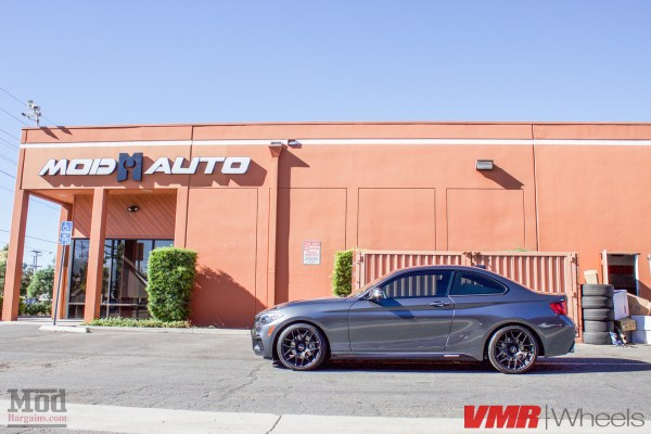Quick Snap: F22 BMW 228i MSport on VMR V710 Matte Black Wheels