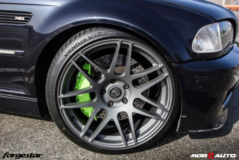 BMW_E46_M3_Forgestar_F14_19x95_19x10_textured_gunmetal_stoptech_img007
