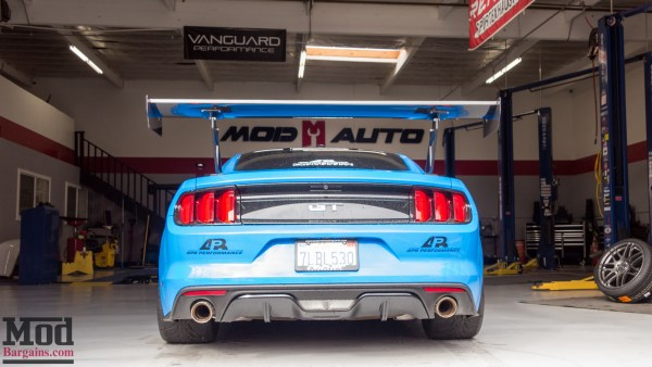 Before/After: Michael's Track-Day S550 Mustang GT on HRE FF15s Gets Aligned @ ModAuto