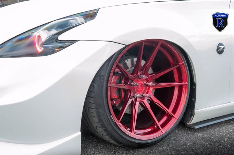 Nissan_Z33_370Z_Rohana_RF2_GlossRed_20x11_20x12_img004