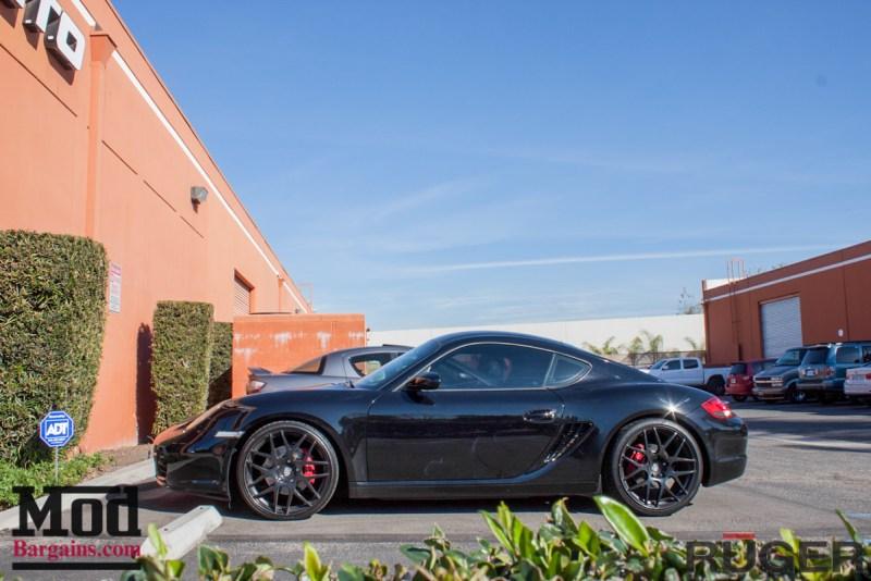 Porsche_987.2_Cayman_S_Ruger_Mesh_MatteBlack_20in_Springs_Exhaust-6