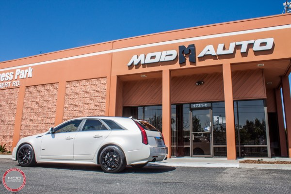 Cadillac CTS-V Wagon Pipes up with Stainless Works Exhaust @ ModAuto