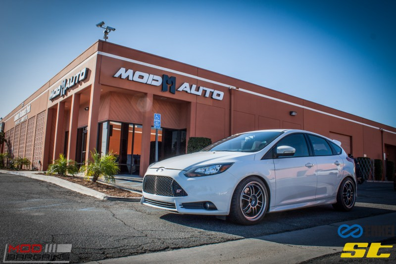 Ford Focus ST 14 CX FMIC ST X Coilovers Enkei RPF-1 Steeda Rear Sway Milltek nonres (30)