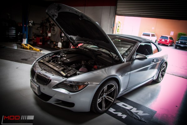 Quick Snap: E63 BMW M6 Breathes Free with K&N Cold Air Intakes