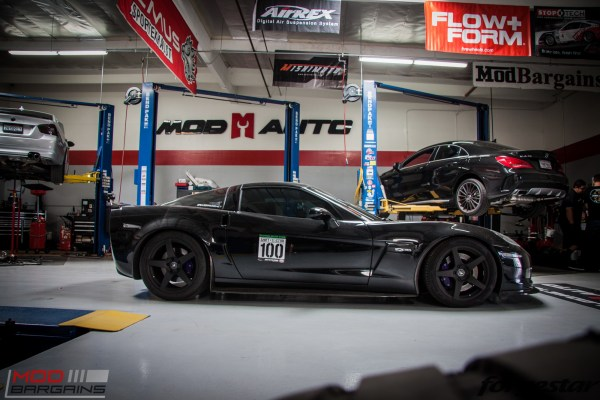 Marisa Clark's ShiftS3ctor-Veteran 585WHP C6 Corvette Z06 on Forgestar CF5s