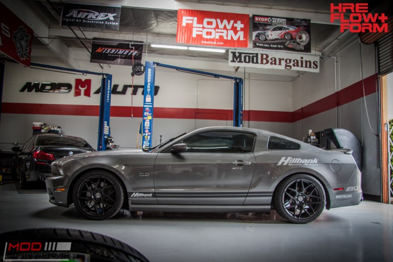 Ford S197 Mustang GT HRE FF01 BC Coilovers WHiteline (2)