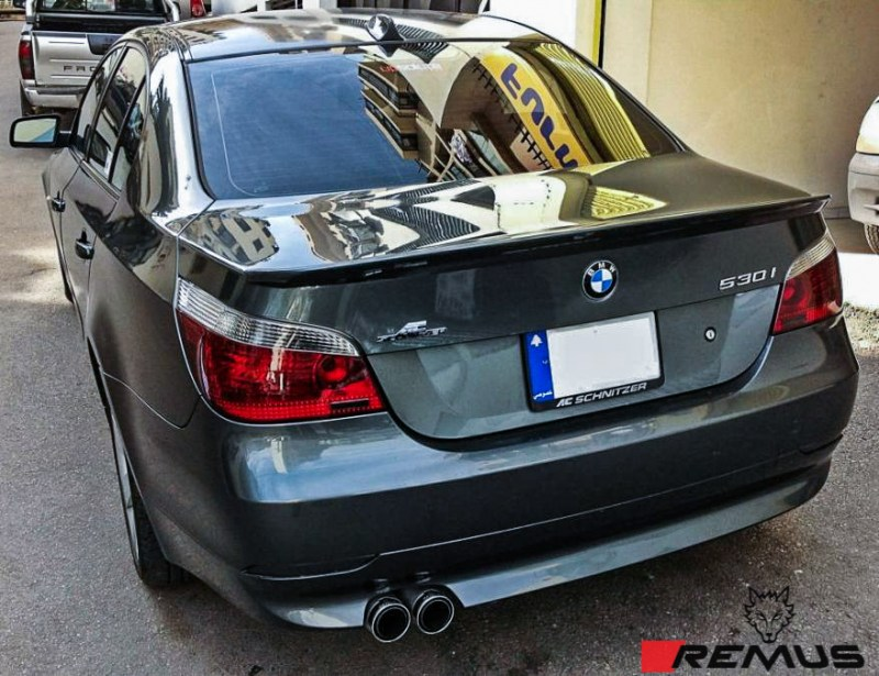 BMW_E60_530i_Remus_Single_Exhaust_img001