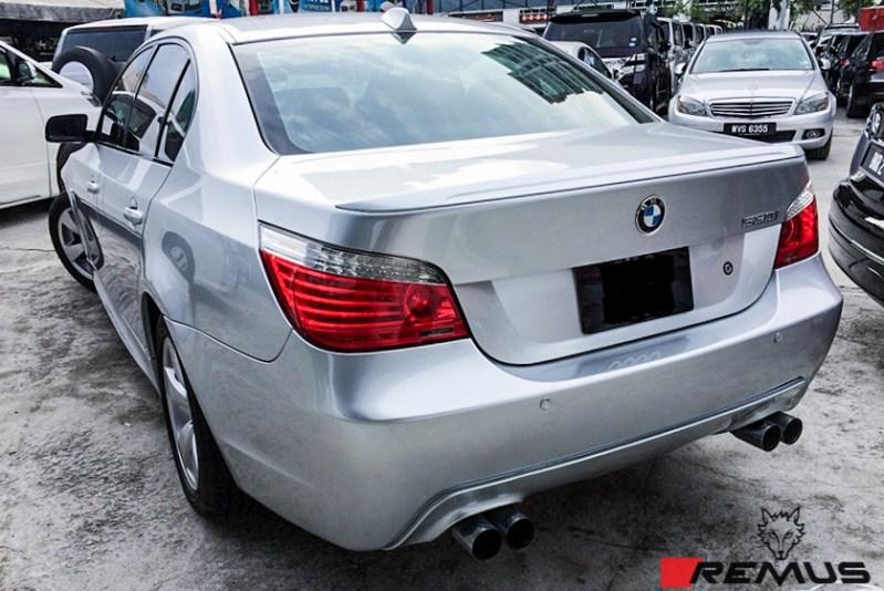 BMW_E60_530i_remus_Quad_Exhaust_Img003