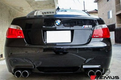 BMW_E60_M5_remus_Exhaust