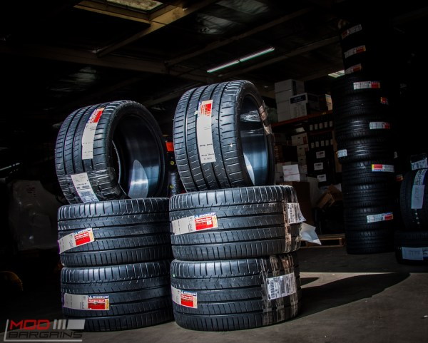 NOW IN STOCK: 345/30-ZR20 Michelin Pilot Super Sport Tires @ ModBargains