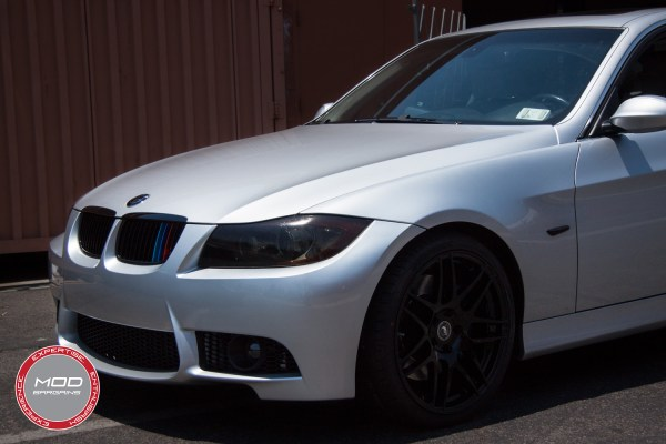 "Quick Snap: E90 BMW 335i on Forgestar F14s gets ""M"" treatment with M3-Style Front Bumper & MSport Style Rear"