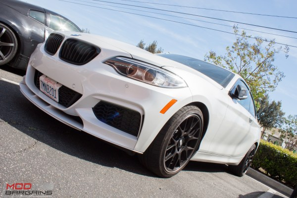 Spotted: F22 BMW M235i Decked Out in CF Accessories Visits ModAuto