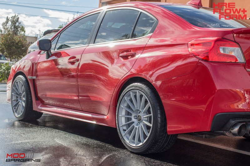 Subaru WRX HRE FF15 Silver (6)