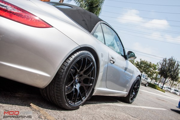 Quick Snap: 997 Porsche Carrera Cabrio stuns on Ruger Mesh Wheels