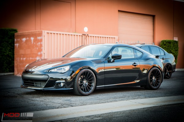 Feature: Subaru BRZ on HRE FF15s Gets OHLINS Coilovers & More Suspension Mods