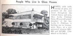 Small Of People Who Live In Glass Houses