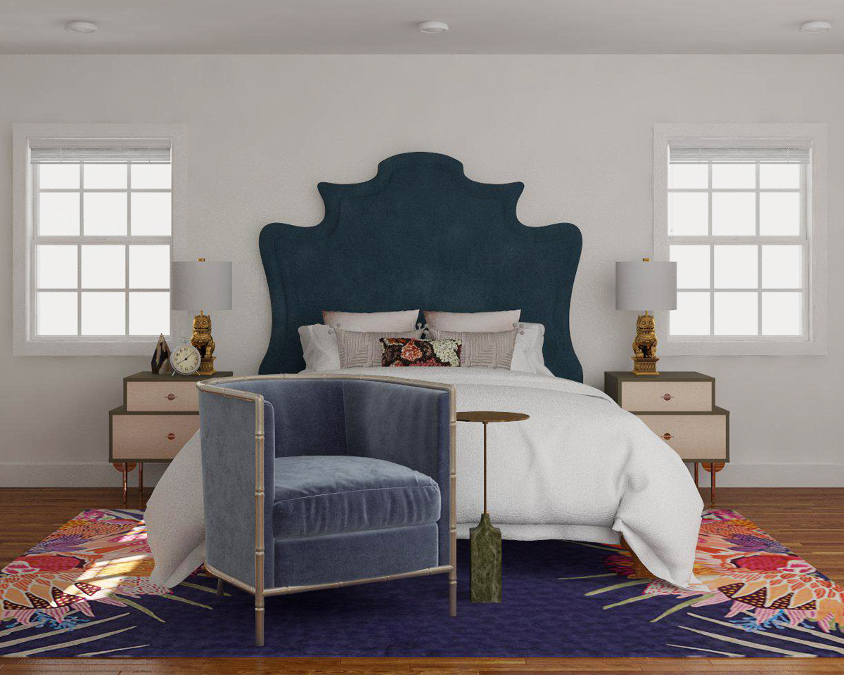 Smothery Extra Ways To Incorporate Seating Into Your Bedroom Modsy Blog Need If Ottomans Open Bases To Keep Your Spacelooking Light A Small Look furniture Small Bedroom Chair With Ottoman