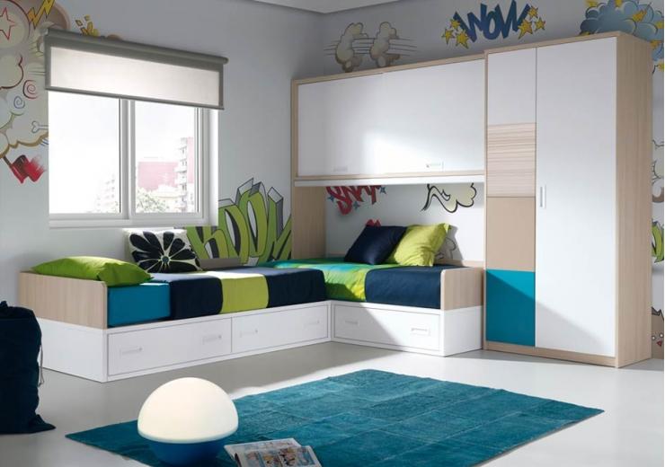 Las camas consejos para amueblar juveniles iii blog for Camas de 1 05 juveniles