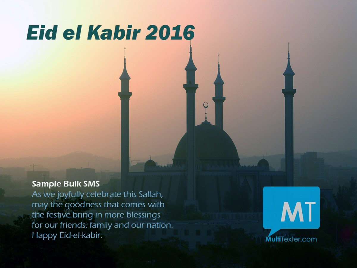 Sample messages for eid el kabir 2016 how to send bulk sms m4hsunfo