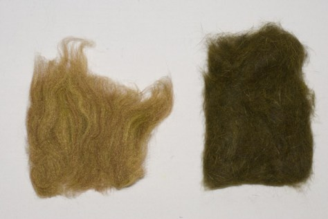 Fly Rite is on the left and Hare's Ear Natural Fur Blend is on the right.