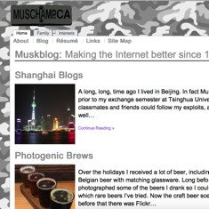 Muskblog Screen Shot