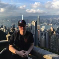 At the Peak in Hong Kong