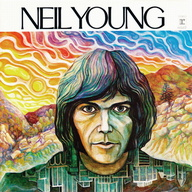 Neil Young's first solo album cover