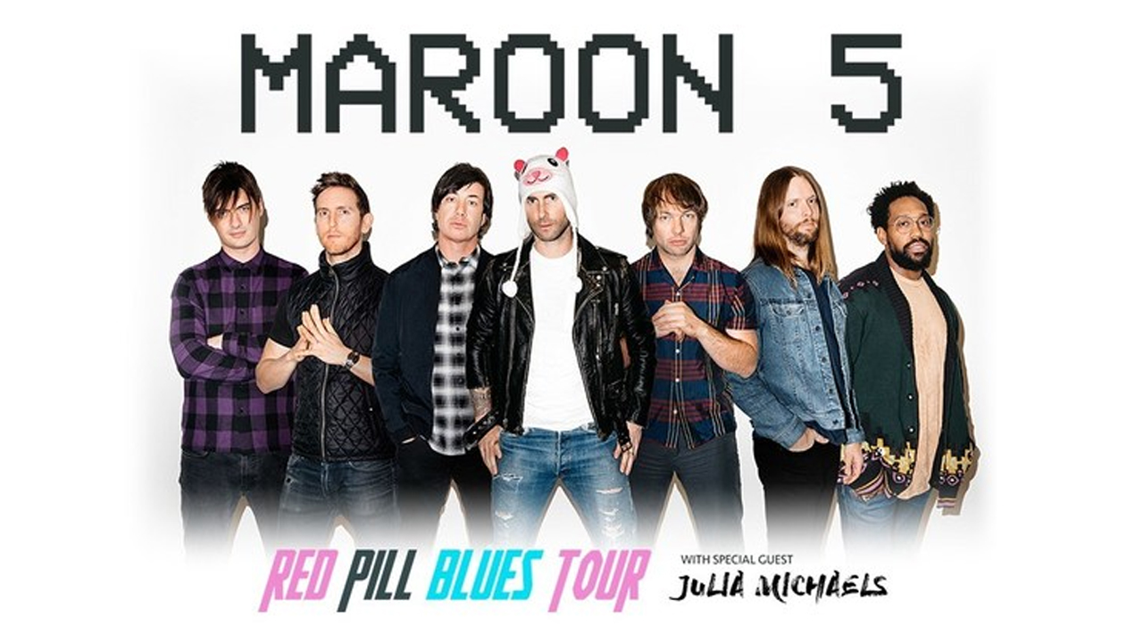 Maroon 5 Release New Album Red Pill Blues Ernie Ball