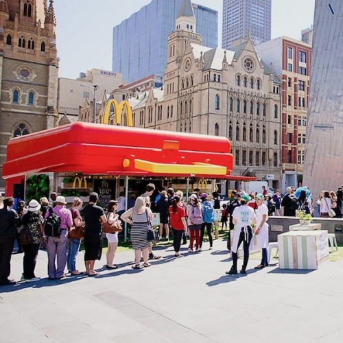 MCDONALD'S POP UP STORE