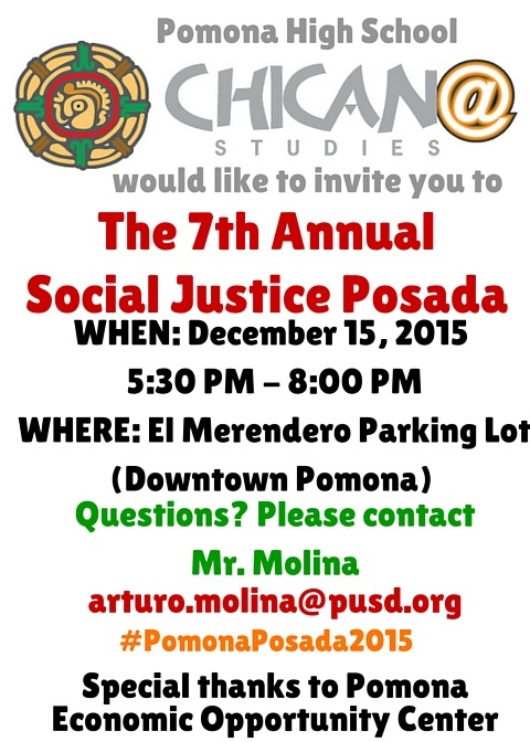 The 7th Annual Social Justice Posada