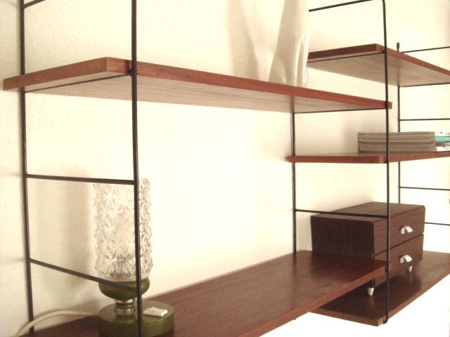 from trash to treasure string regal n hmarie. Black Bedroom Furniture Sets. Home Design Ideas