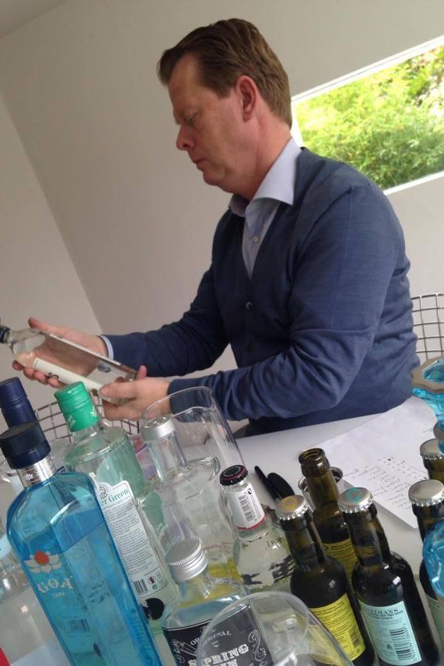 tasting gin & tonic