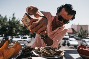 Oysters in Sete