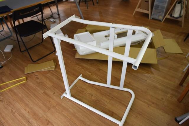 janome1600p-qc專用桌組裝