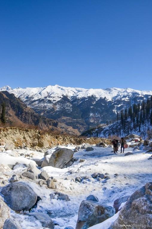 Snowy Himalayas