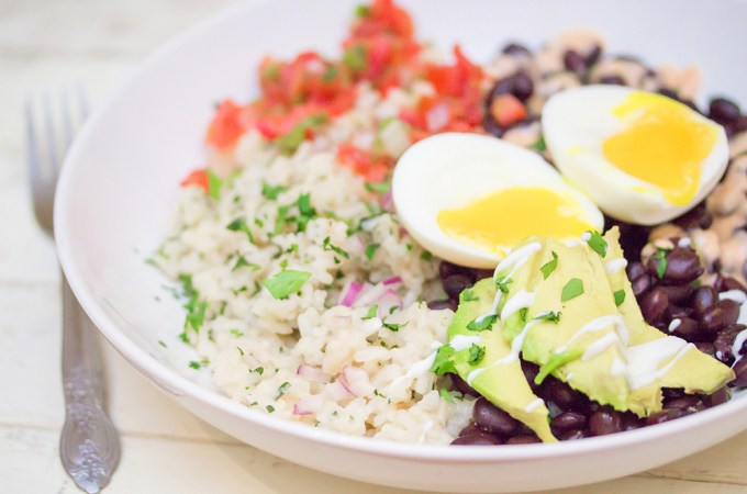 Breakfast Burrito Bowl by Jerry James Stone