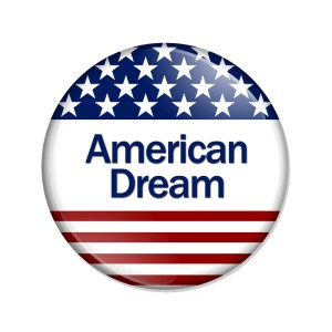 american dream button