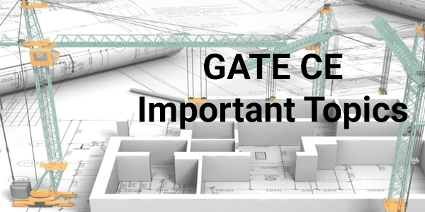 GATE-Civil-Engineering-Important-Topics-2016