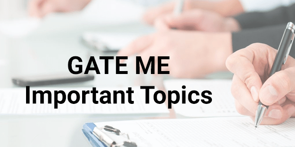 GATE-ME-Frequently-Asked-Topics