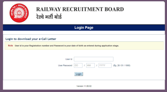 RRB-NTPC-Download-Admit-Card-Call-Letter-Step1