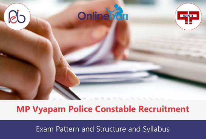 MP Police Constable Examination: Exam Pattern and Syllabus