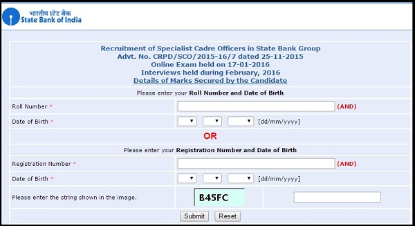 SBI-SO-Specialist-Officer-Result