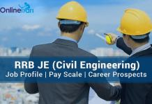 RRB JE (Civil Engineering) Job Profile, Pay Scale, Salary