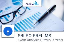 SBI PO Exam Analysis of Previous Year Prelims Examination