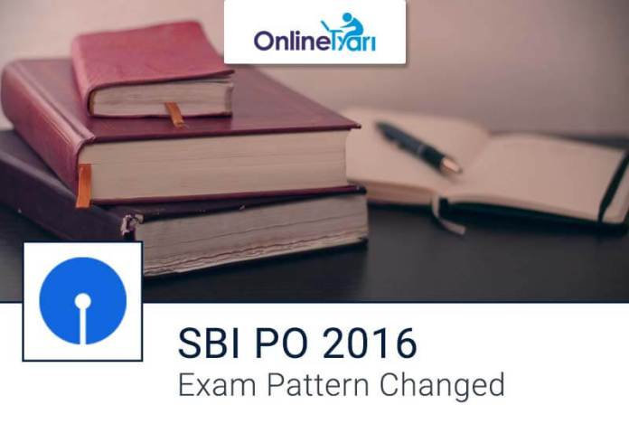 SBI PO Mains 2016 Change in Exam Pattern