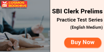 SBI Clerk Prelims Test Series