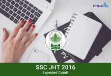 SSC JHT Expected Cutoff Marks 2016 | Junior Hindi Translator