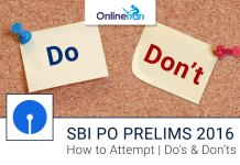 How to Attempt SBI PO Prelims 2016