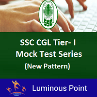 SSC CGL Tier 1 Mock Test Series New Pattern